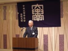 佐藤支部長の挨拶で総会スタート