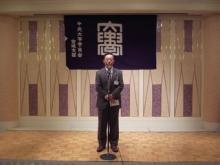 仙台市の危機管理の要 会員の中鉢仙台市危機管理監です
